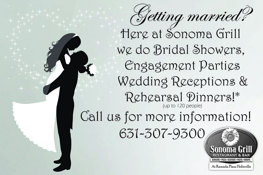 Weddings at Sonoma Grill